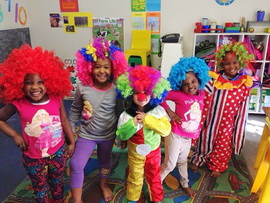Clowning Around in East London Kindy - South Africa