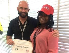 Lagos Island teacher receives an Award - Nigeria