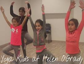 Yoga now an amazing part of the drama curriculum in Cairo - Egypt