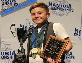 Windhoek student becomes Junior Champion of the Namibia Performing Arts Championship - Namibia