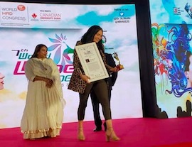 Adila Budullah becomes a 'Woman Super Achiever' - Mauritius