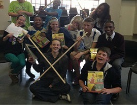 Annlin Youth Theatre live up to the Physical Theatre Challenge - South Africa